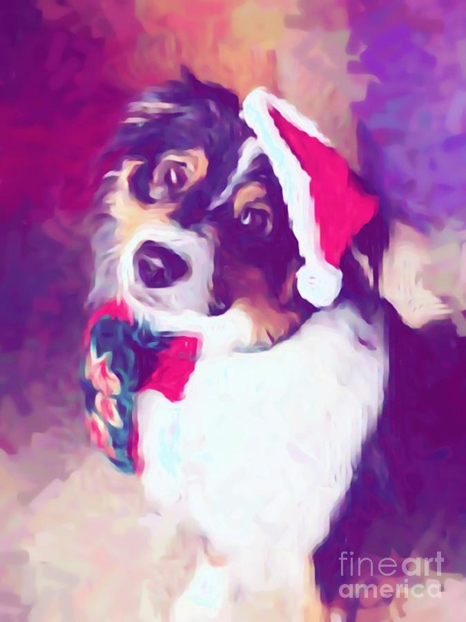 Aussie Dressed for Christmas by Mesa Teresita