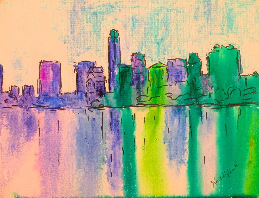 Austin Reflections Stage One by Kendall Kessler