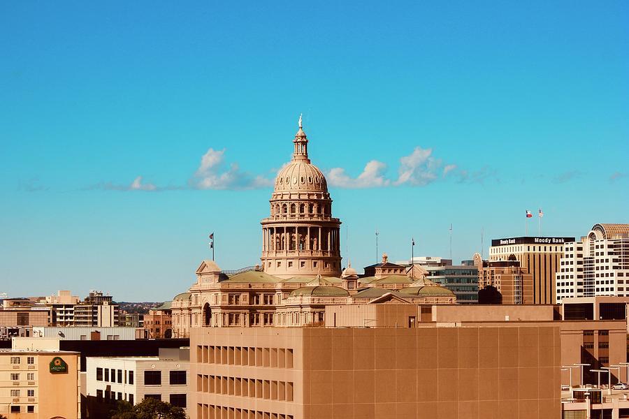 Austin Texas State Capitol Photograph
