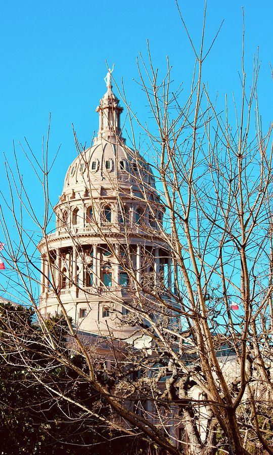 Austin Texas State Capitol #1 Photograph