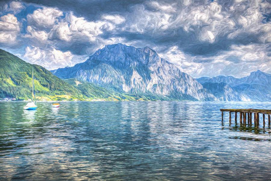 Austrian Lake Art Photograph