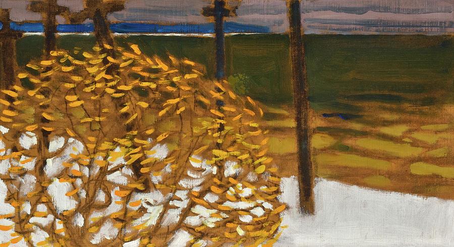 Akseli Gallen-kallela Painting - Autumn, 1903 by Akseli Gallen-Kallela