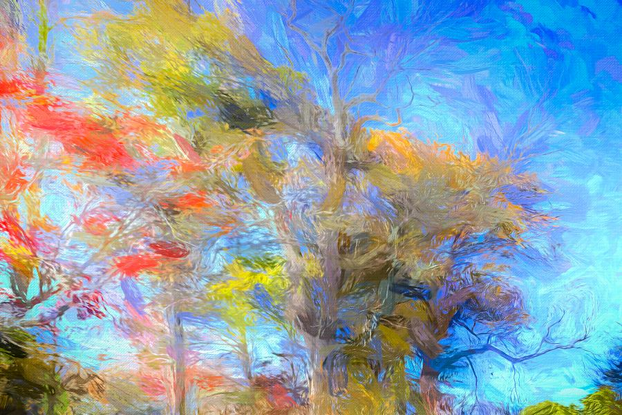 Autumn Art Sleepy Hollow by David Pyatt
