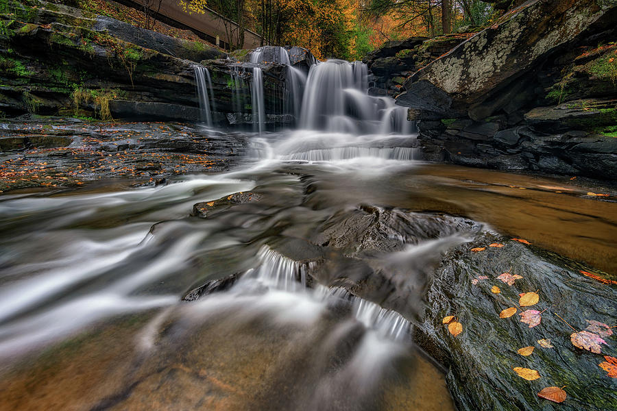 Autumn at Dunloup Creek by Rick Berk