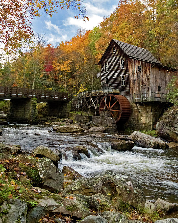 Autumn at Glade Creek by Lori Coleman