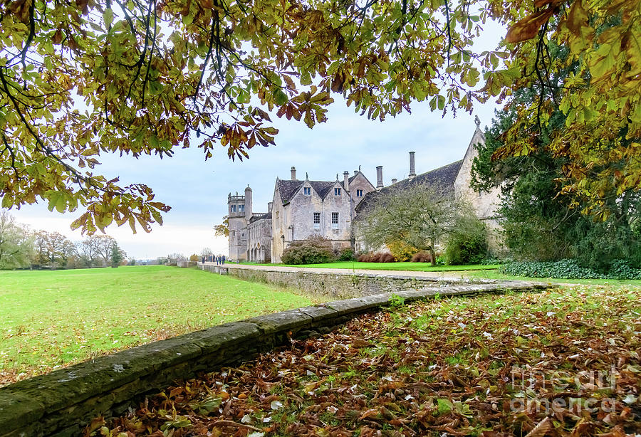 Autumn at Lacock Abbey by Colin Rayner