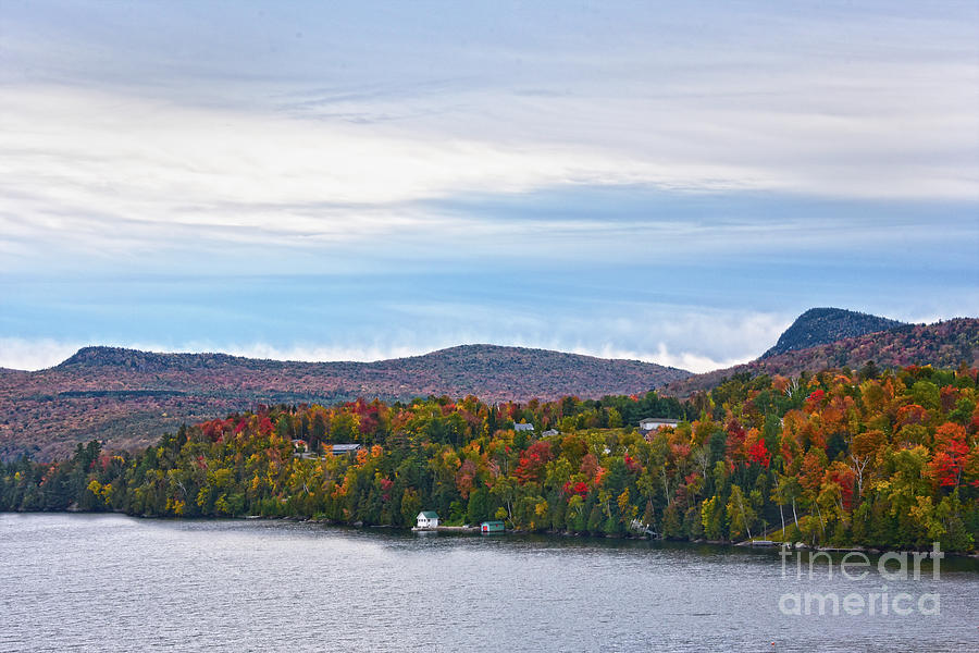 Autumn at Lake Willoughby, Vermont by Catherine Sherman