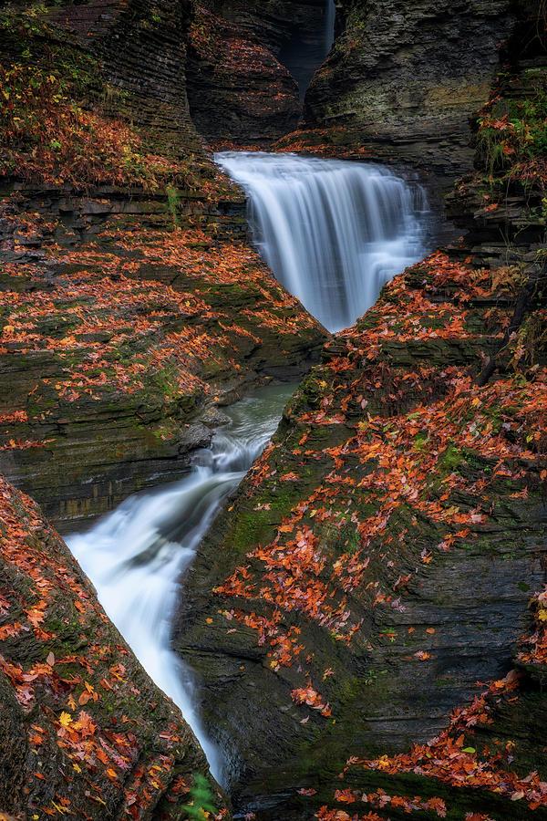 Autumn at Minnehaha Falls by Rick Berk
