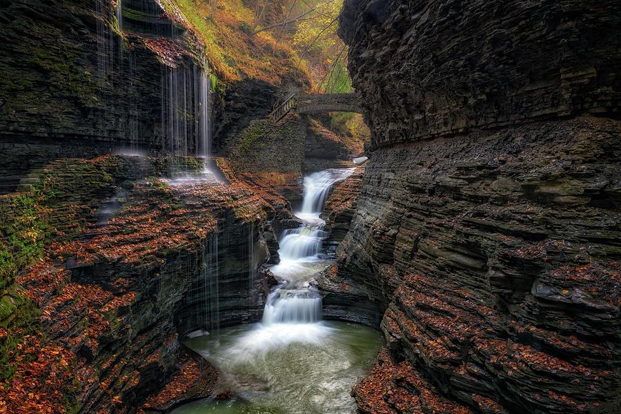 Autumn at Rainbow Falls by Rick Berk