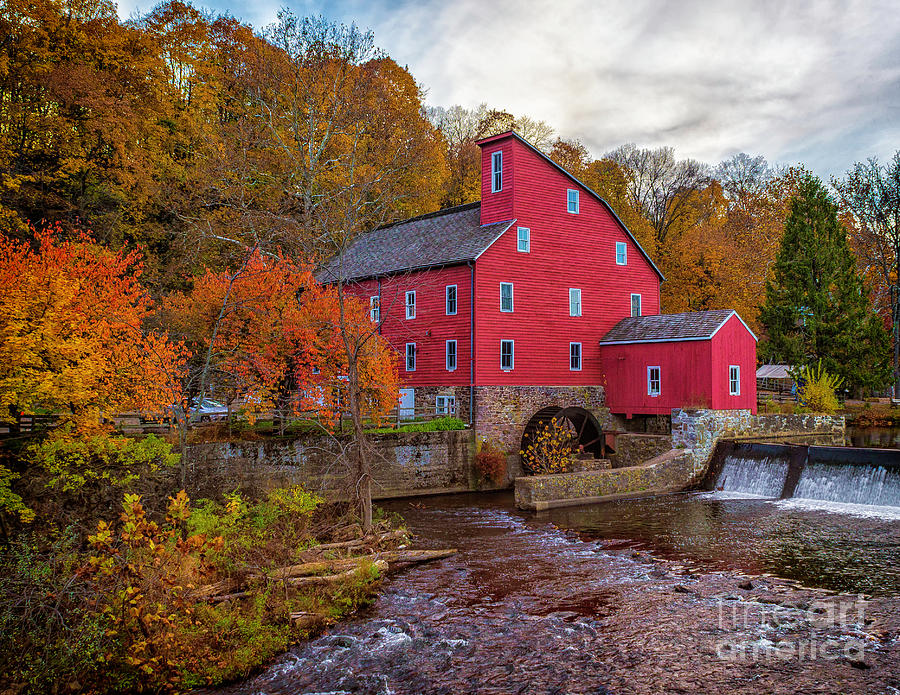 Autumn At The Mill Photograph