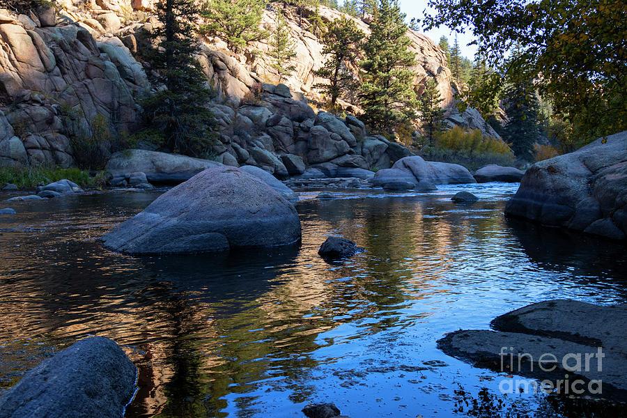 Autumn Calm In Eleven Mile Photograph