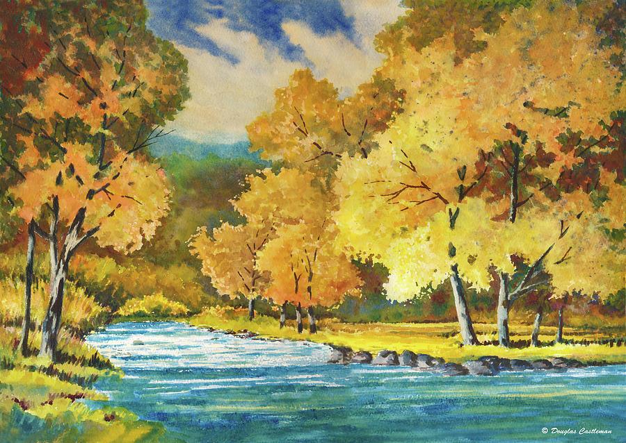 Autumn Creek by Douglas Castleman