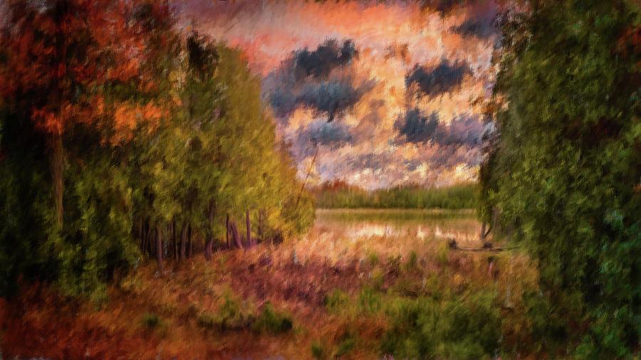 Autumn Dawn by David Heilman