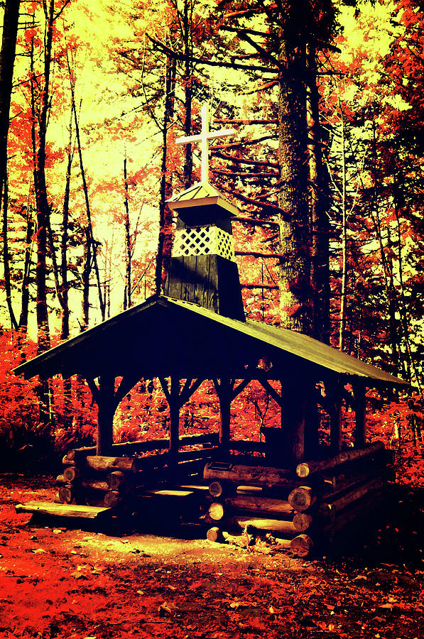 Autumn Forest Prayer Chapel by Tikvah's Hope