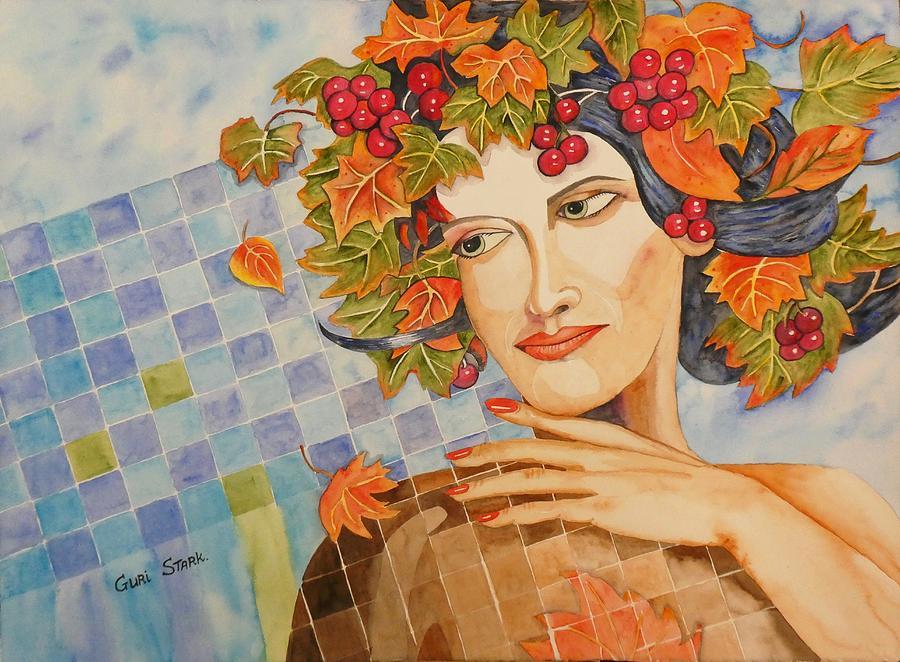 Autumn Painting - Autumn by Guri Stark