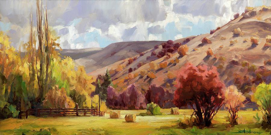 Autumn Illuminated Painting