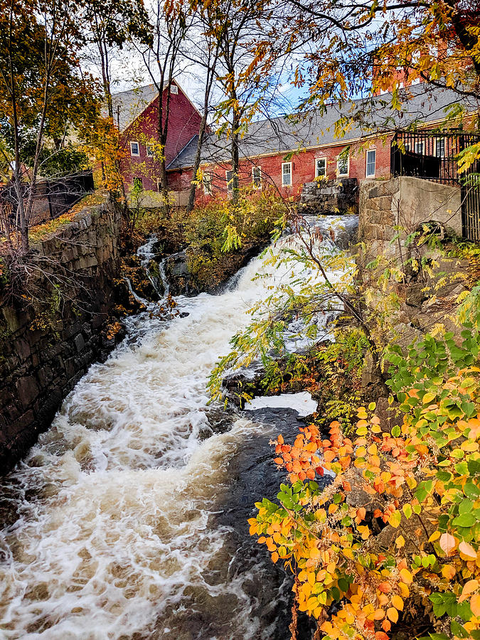 Autumn in Amesbury by Christopher Brown