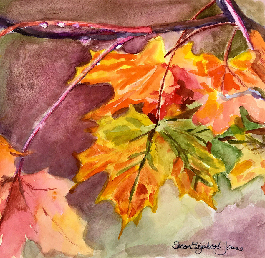 Autumn Leaves Painting