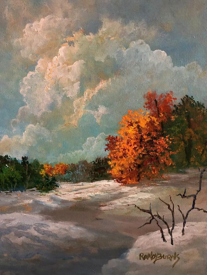 Autumn Meets Winter by Randy Burns