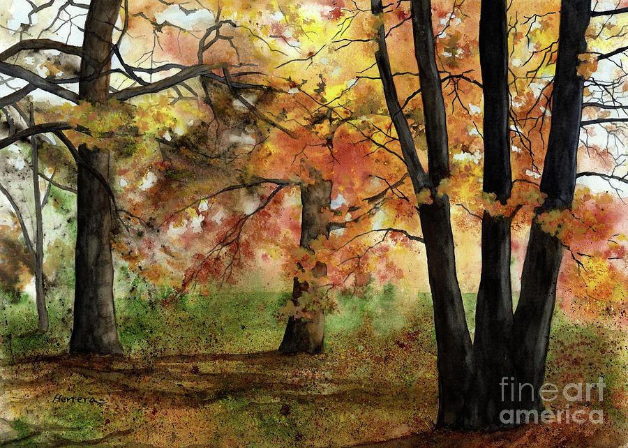 Autumn Mood Painting