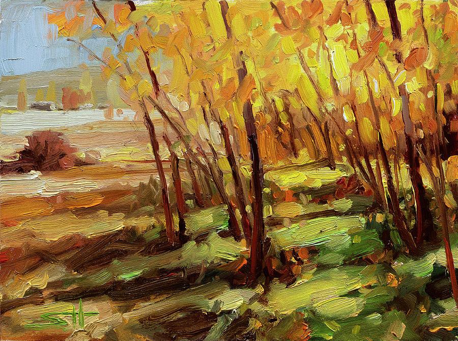 Autumn Pathway Painting