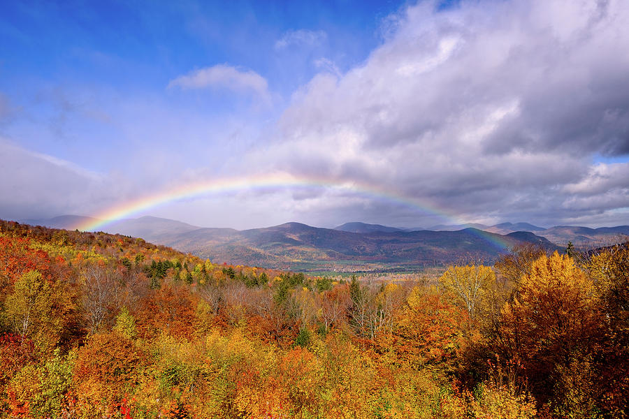 Autumn Rainbow by Jeff Sinon