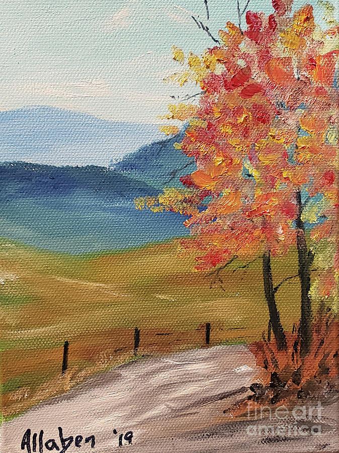 Autumn Road by Stanton Allaben