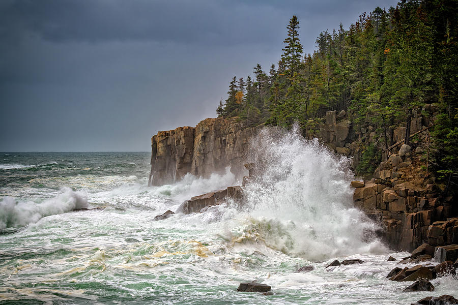 Autumn Storm in Acadia by Rick Berk