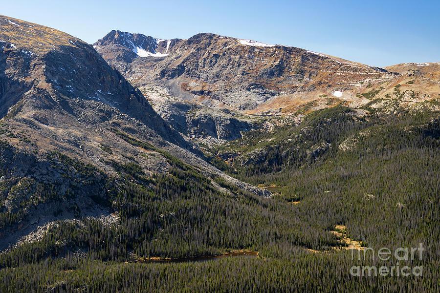 Autumn Stream On Trail Ridge Road Colorado Photograph