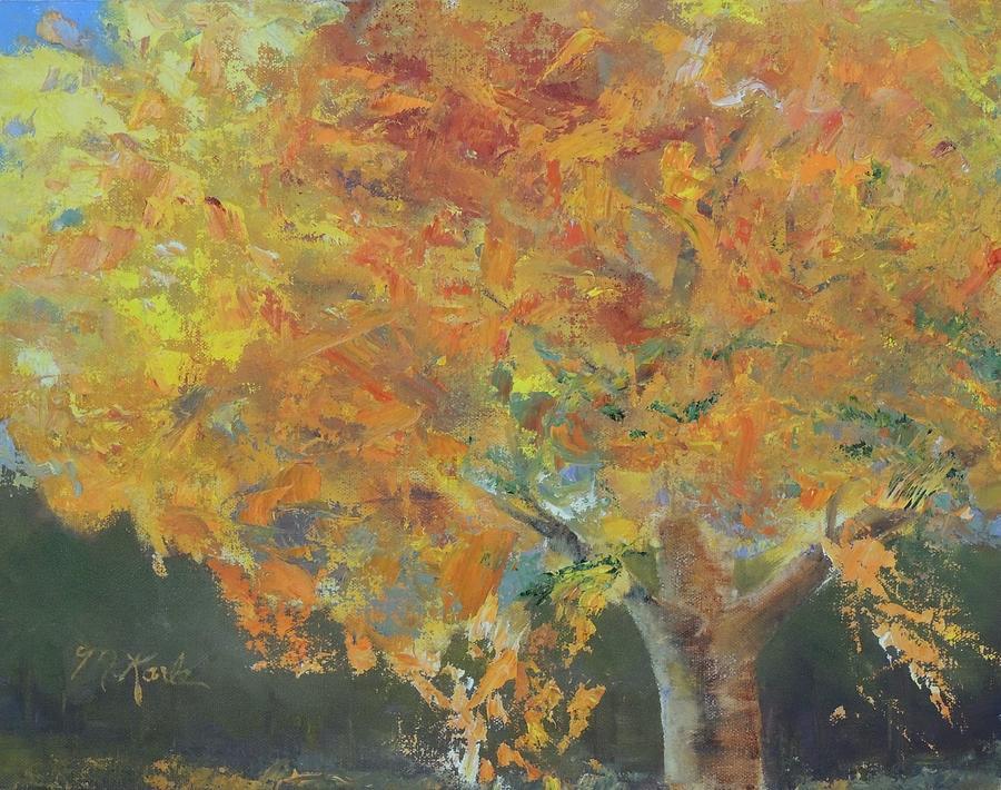 Autumn Tree by Marsha Karle