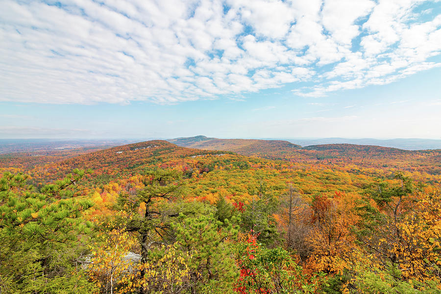 Hudson Valley Photograph - Autumn View from Beacon Hill by Jeff Severson