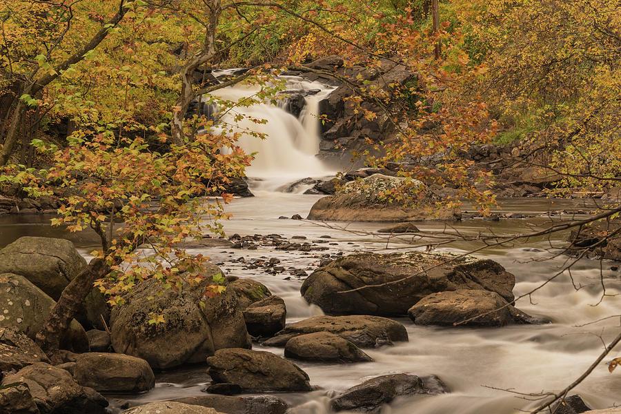 Autumnal Falls by Kristopher Schoenleber