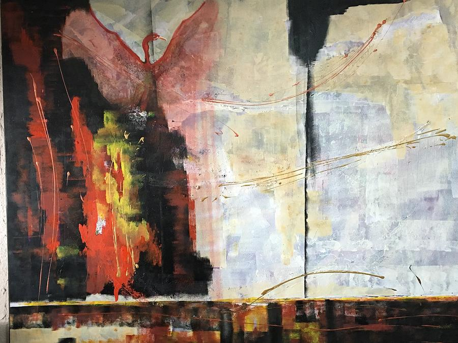 Ave Fenix Painting By Maca Muller Creel