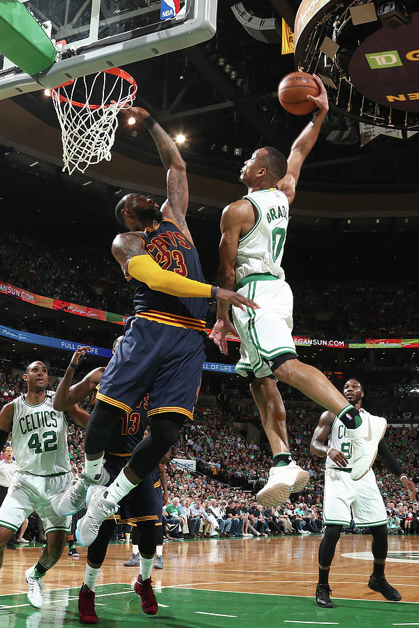 Avery Bradley and Lebron James Photograph by Nathaniel S. Butler