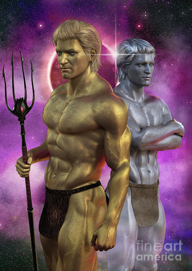 Axxios and Braxxus by Elle Arden Walby