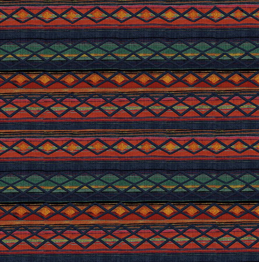 Aztec Southwest Design by Jean Batzell Fitzgerald