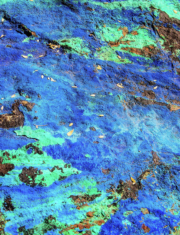 Azurite and Malachite by ELAINE MALOTT