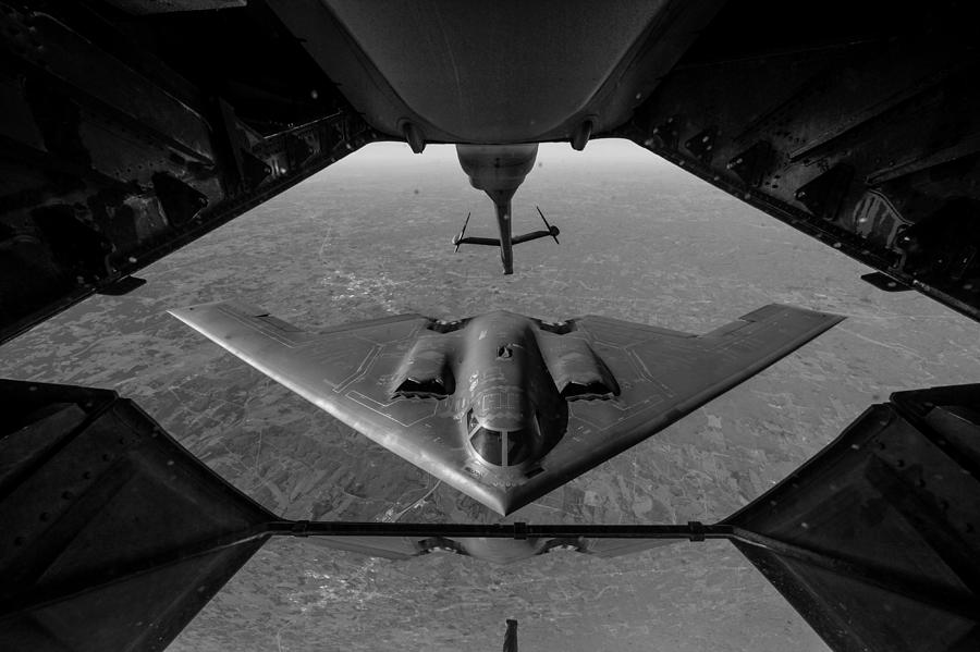 B-2 Spirit Air Refueling - 2016 by War Is Hell Store