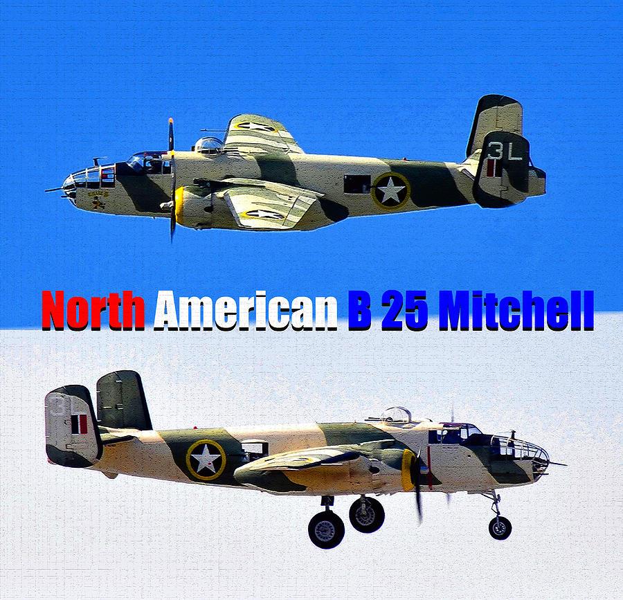 B 25 Mitchel Dual Photographic Work Photograph