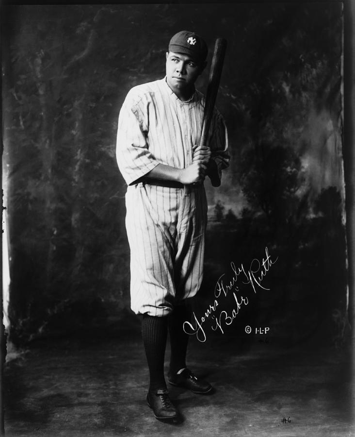 Babe Ruth Photograph by Mpi