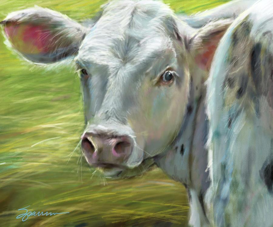 Baby Bessie Painting