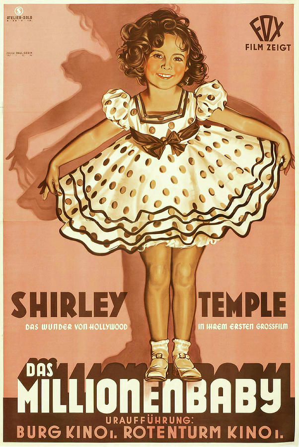 baby Take A Bow, With Shirley Temple, 1934 Mixed Media
