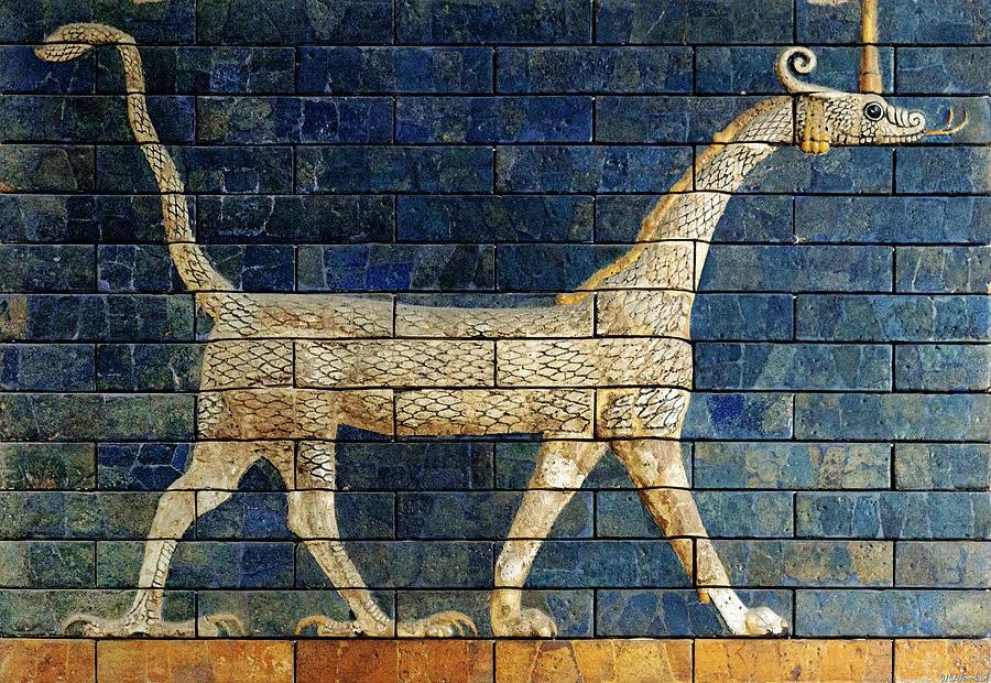 Babylonian Dragon 01 by Weston Westmoreland
