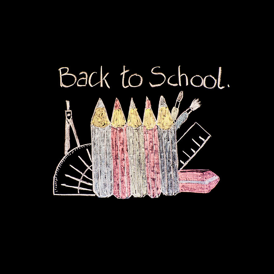 Back To School Photograph - Back To School by Paul Cullen