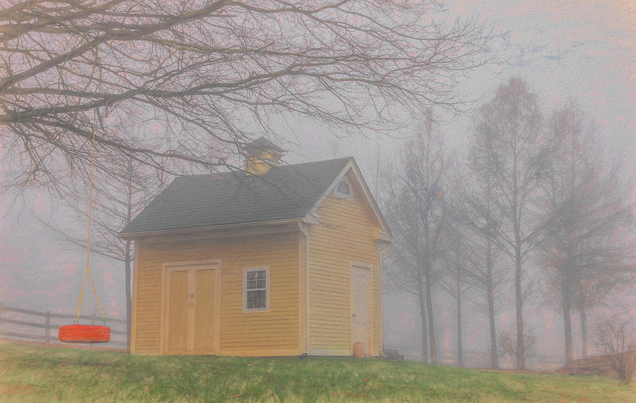Very Close to Home in November by Marcy Wielfaert
