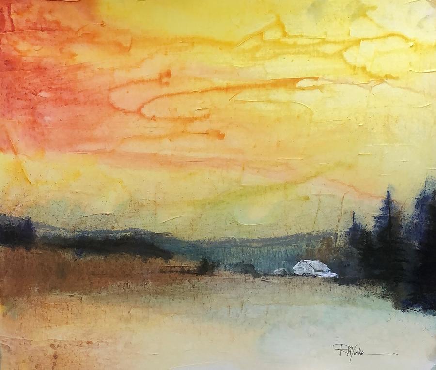 Backbone Mountain Painting - Backbone Mountain by Robert Yonke