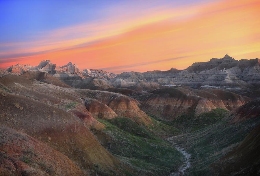 Badlands National Park Sunrise Photograph