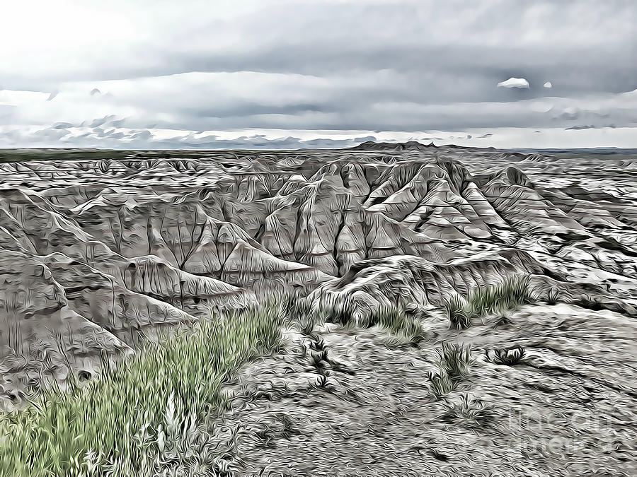 Badlands of South Dakota Three by Tracy Ruckman