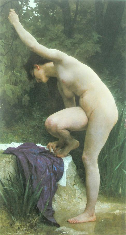 Baigneuse Painting