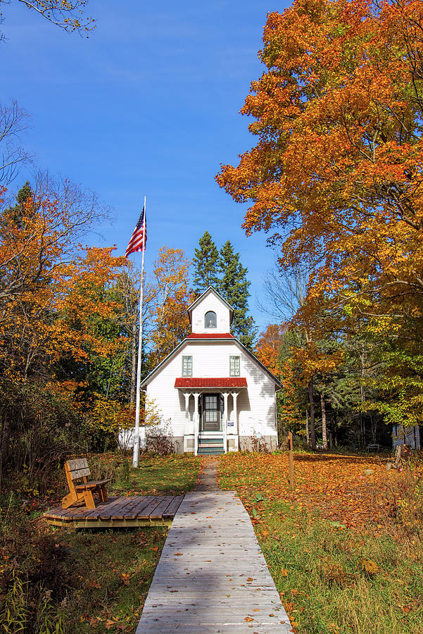 Baileys Harbor Lighthouse, Door County, Wi Photograph
